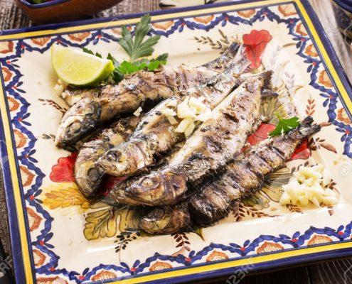 portuguese grilled sardines