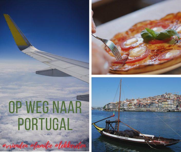 Lekker naar mijn familie en vrienden in Portugal